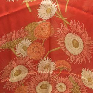Vintage Salvatore Ferragamo 100% Silk Scarf